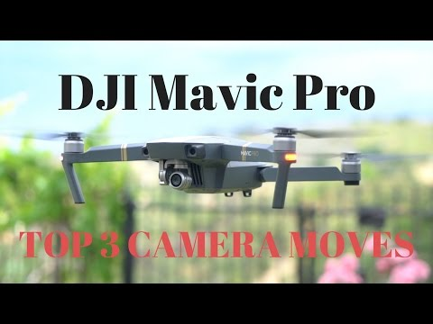 DJI Mavic Pro - TOP 3 CAMERA MOVES | Momentum Productions