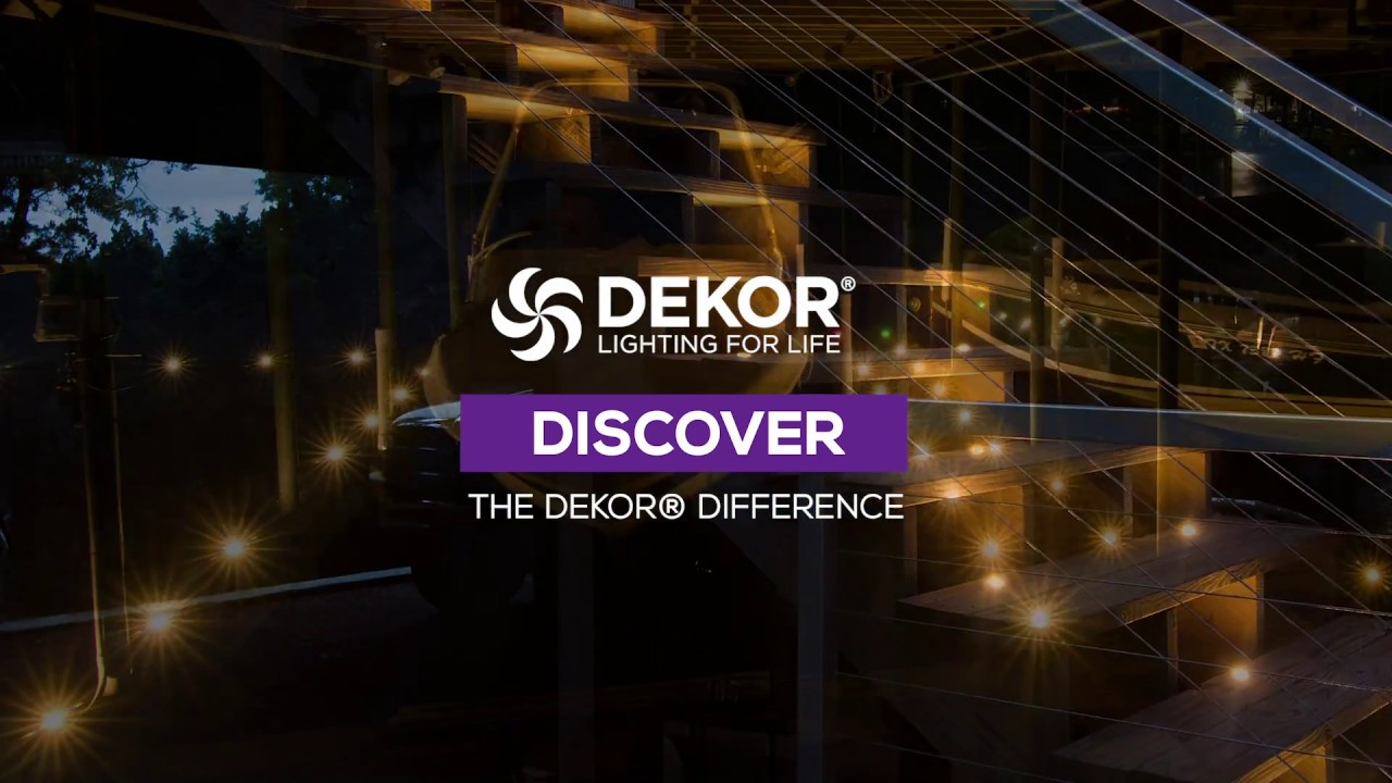 discover the dekor difference dekor lighting