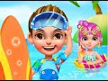 """Beach Dress Up 2 Summer Girl """"Casual Games"""" Android Gameplay Video"""