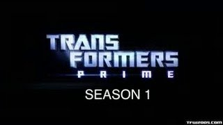 Transformers Prime Season 1 Trailer (tribute)