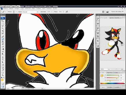 How to colorize your drawings like Sonic Team style, the easiest way!