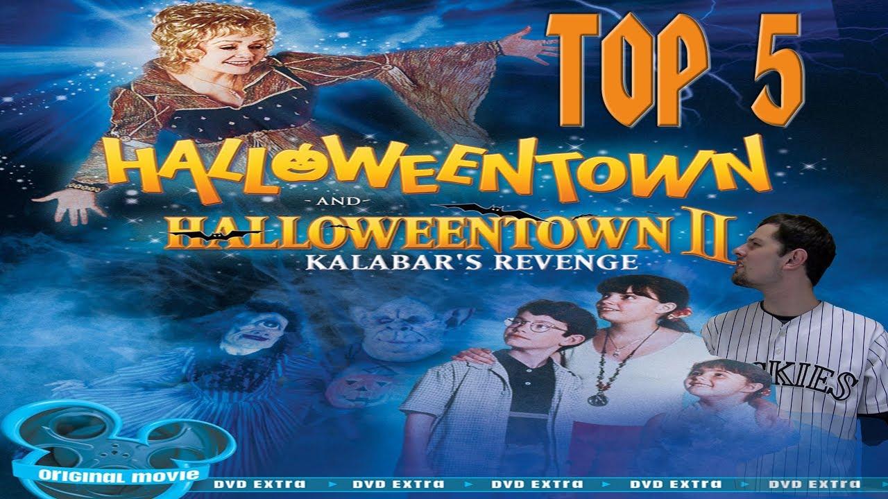 top 5 halloween disney channel original movies - youtube