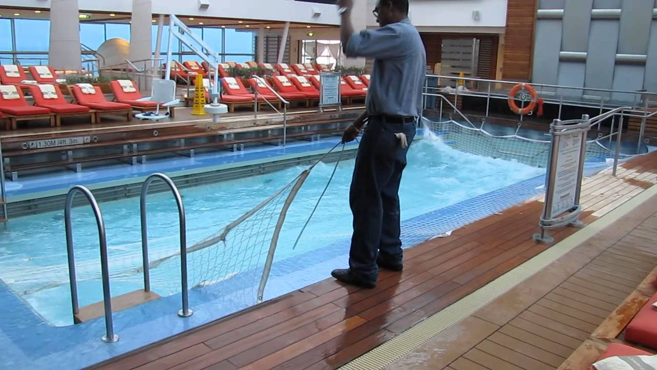 Do Celebrity ships heat pools in cooler climates ...