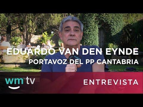 Entrevista Eduardo Van den Eynde, Portavoz PP Cantabria