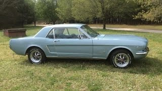 1965 Ford Mustang 2 Door Hardtop Coupe
