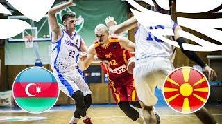 LIVE Azerbaijan v MKD FIBA U20 European Championship Division B 2018