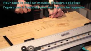 wolfcraft - tecmobil - gabarit - foret - serre joint -  video 89