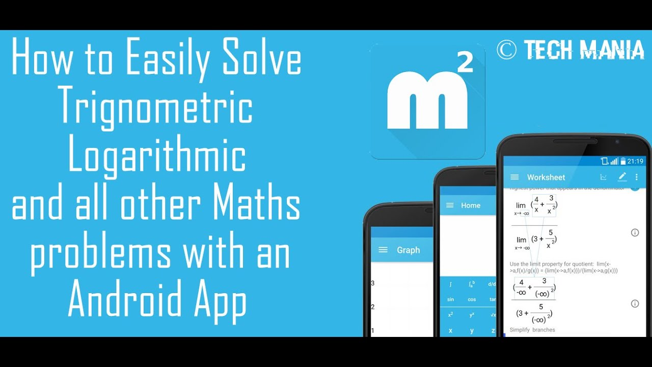 How to Solve Difficult Maths problem with an Android App - YouTube