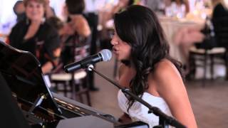"""Can't Help Falling in Love"" wedding performance"