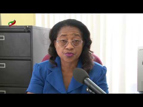 Acting Chief Medical Officer Dr. Hazel Laws educates public on Gastroenteritis