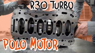 "Der R30 Turbo Motor für unseren 1/4 Meile Polo! - "" Brutus "" Folge 2 | Philipp Kaess |"