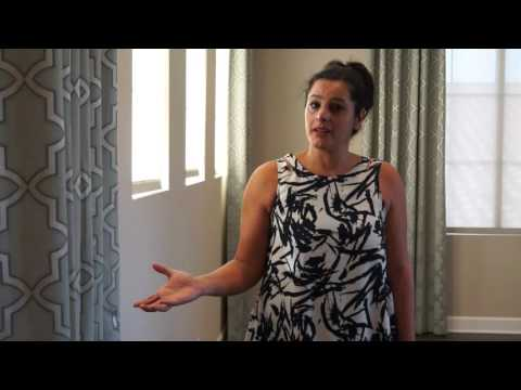 Contemporary Drapery Design With Grommet Curtains and Solar Shades | Galaxy-Design Video # 141