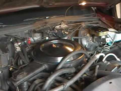 Chevy Caprice Classic cold start and warm up Stock 1988 305 LG4 4bbl  YouTube