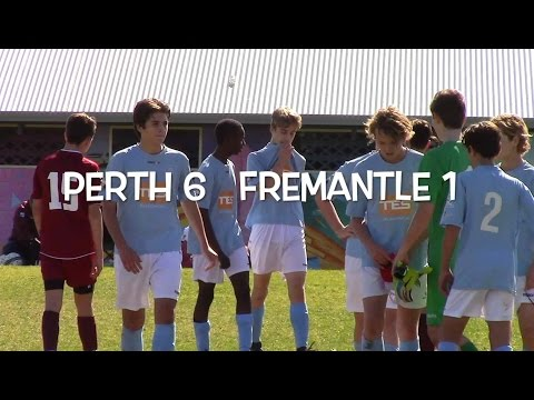 Round 15 WA NPL U14 Perth SC vs Fremantle City 24 July 2016