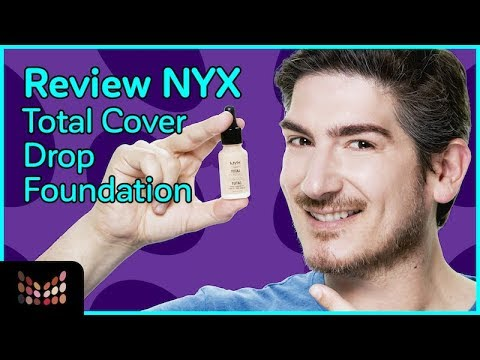 Review - Nyx Total Control Drop Foundation - Vale la Pena ?
