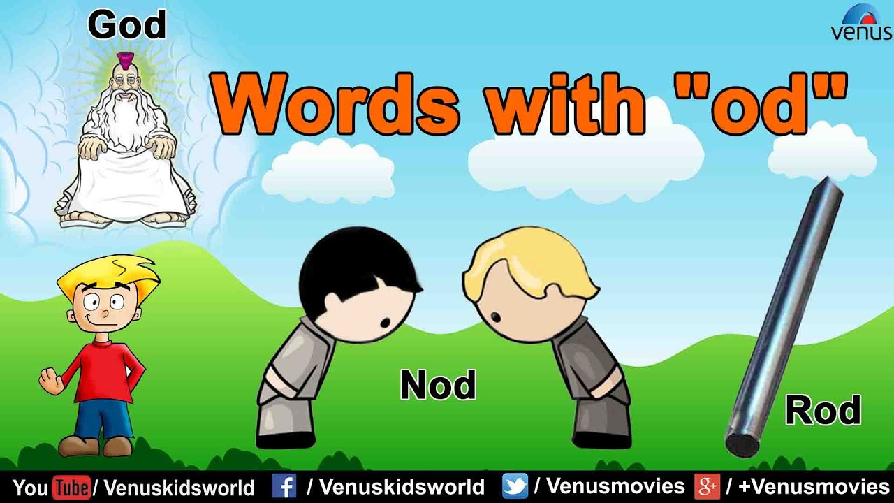 """Words with """"od"""""""