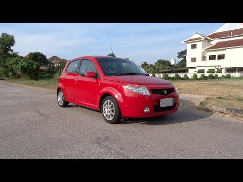 2008 Proton Savvy AMT Start-Up, Full Vehicle Tour, and Test Drive
