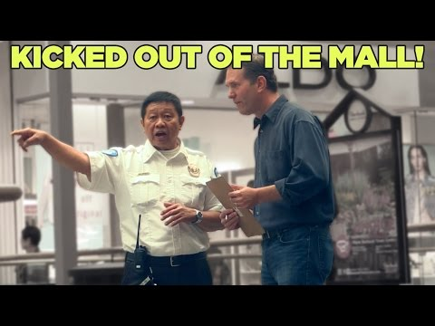 KICKED OUT OF THE MALL!