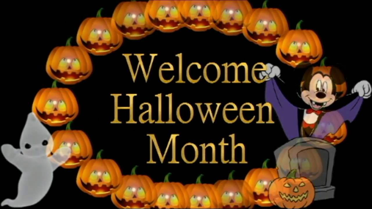 Hello Welcome October,Welcome Halloween Month