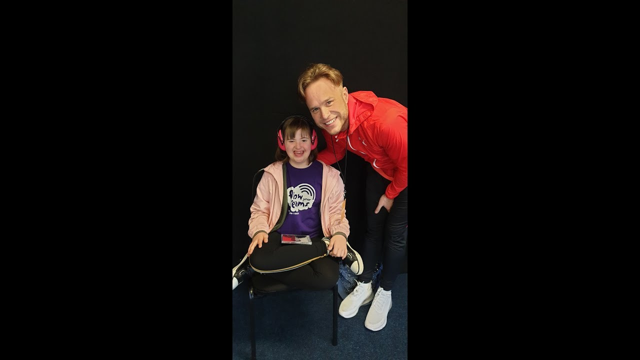 Keeley meets Olly Murs