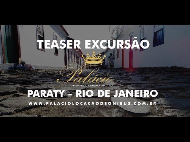 Excursão Paraty Rio de Janeiro com Passeio de Escuna - Palácio Turismo