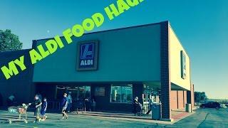 My Aldi Grocery Haul   Shopping