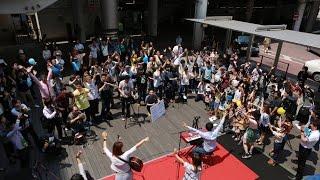 2016年5月22日(日)柏駅東口ファミリー広場で開催されたラブカシキック...