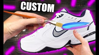 Custom DAD SHOES!! (Nike Air M…