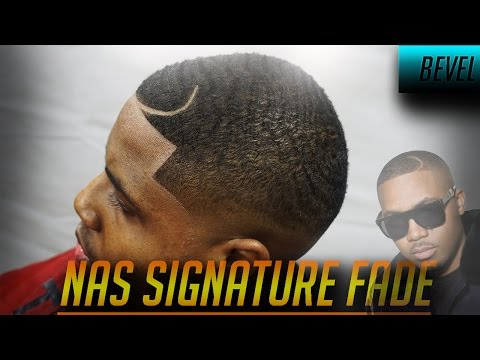 Barber Tutorial: Nas Signature Fade W/ Bevel Trimmers