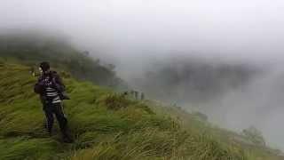 Trekking in the rain: Thondaman Kottai, Rajappara, Idukki