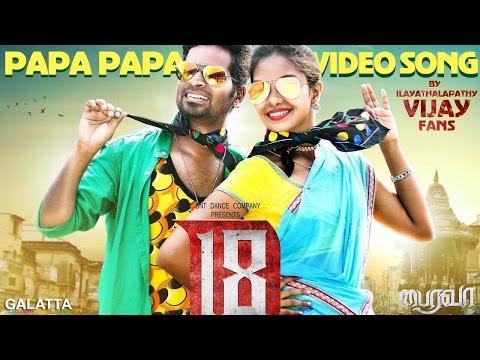 Bairavaa Songs   PaPa PaPa Video Song  ...