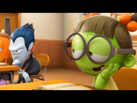 Funny Animated Cartoon | Spookiz | School Love | Cartoon For Children