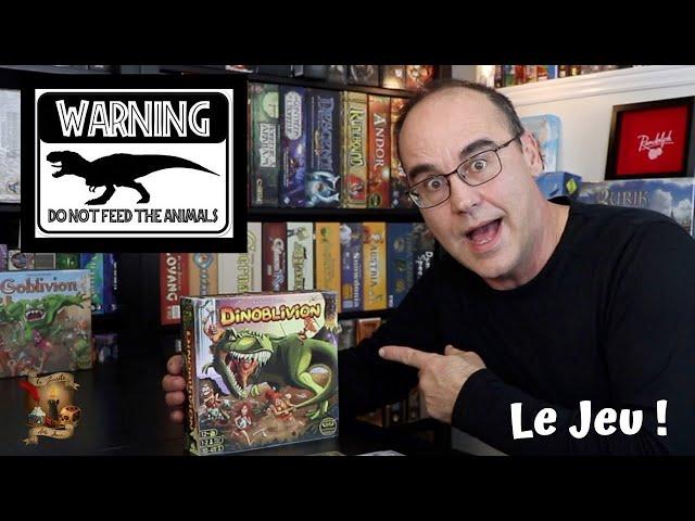 DINOBLIVION : Le Jeu !