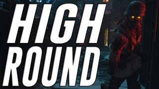 Black Ops 3 Zombies The Giant High Round Gameplay + High Round Strategy