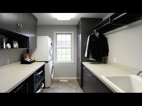 16 modern laundry room design ideas room ideas youtube. Black Bedroom Furniture Sets. Home Design Ideas