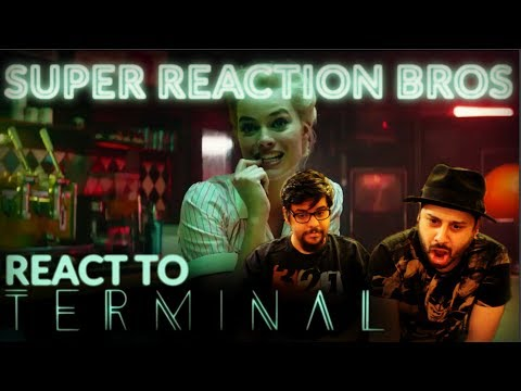 SRB Reacts to Terminal Official Trailer