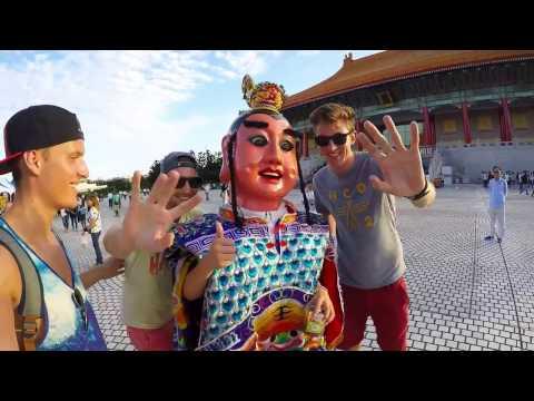 Backpacking Singapore & Taiwan (Gopro)