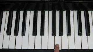 Как Играть - Пусть Бегут Неуклюже на Пианино