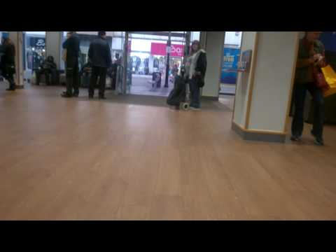 Mad Woman in the Bank In Romford Essex
