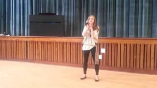 nina leigh singing my immortal by evanescence