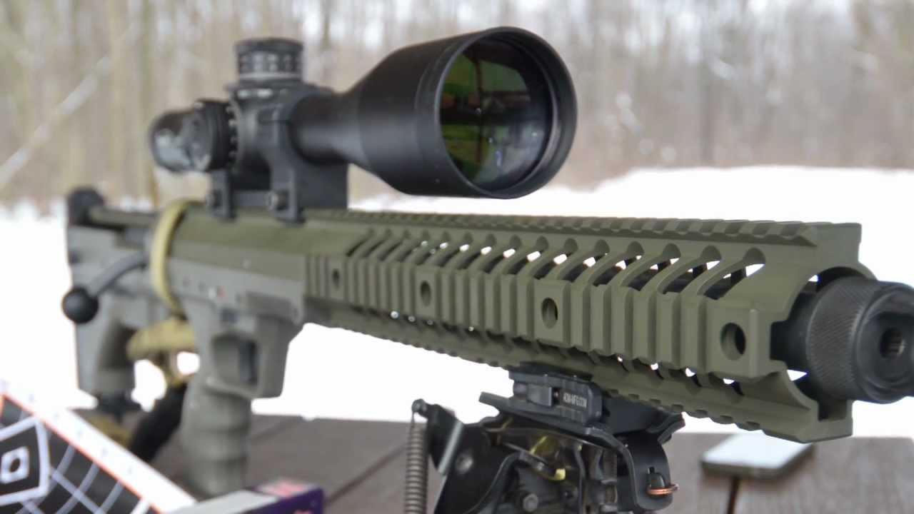 Gun review desert tactical arms stealth recon scout dta srs rifle - Desert Tactical Arms Stealth Recon Scout Rifle From The Bench Youtube