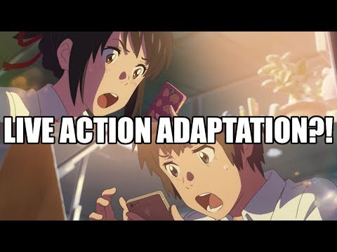 LIVE Reaction to..J.J. Abrams making a YOUR NAME LIVE ACTION MOVIE?!