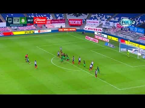 Monterrey [2] - 2 Santos Laguna (D. Parra 90')