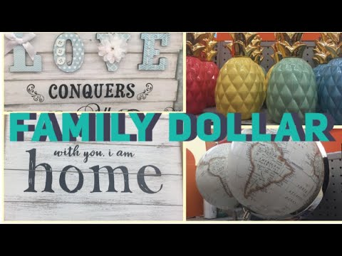 Dollar Decor At Family Dollar. Decorating On A Budget