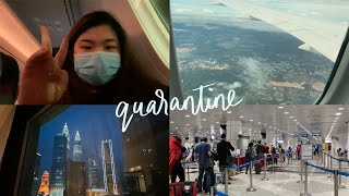 Flying Mandatory Quarantine in Malaysia PCR test for transit in Istanbul