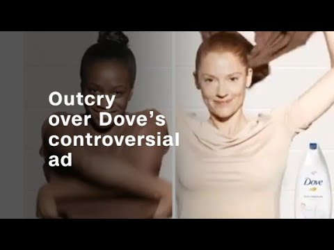 Outcry over Dove's controversial ad