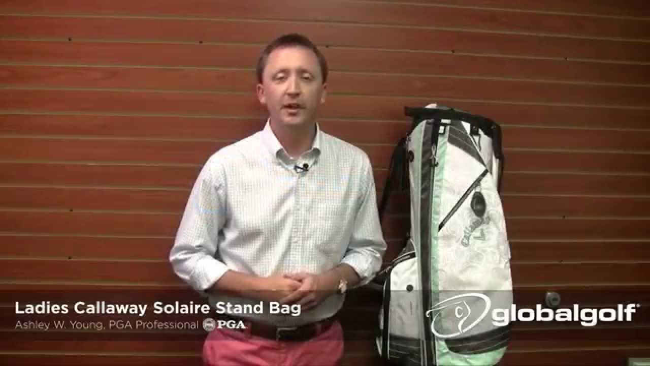 Callaway Ladies Solaire Stand Bag Youtube