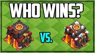 It's OVER - Who WON? Clash of Clans Town Hall 10 BATTLE