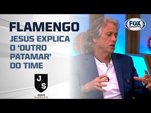 JORGE JESUS EXPLICA O 'OUTRO PATAMAR DO FLAMENGO!