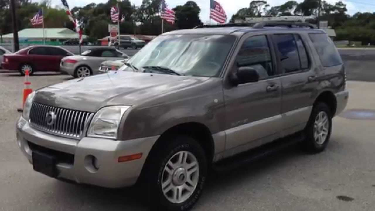 2002 mercury mountaineer view our current inventory at fortmyerswa com youtube [ 1280 x 720 Pixel ]